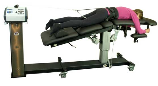 Picture Of A Spinal Decompression Used For Chiropractic Care - Signature Health & Wellness